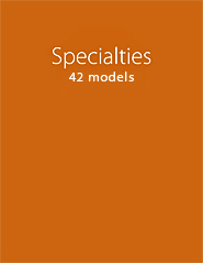 Specialties 2013 Series